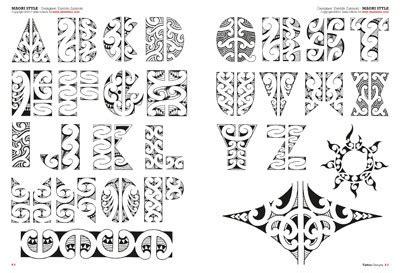 polynesian tattoo lettering designs tribal maori polynesian