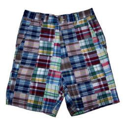 Mens Patchwork Shorts - s chesapeake bay madras patchwork shorts findgift