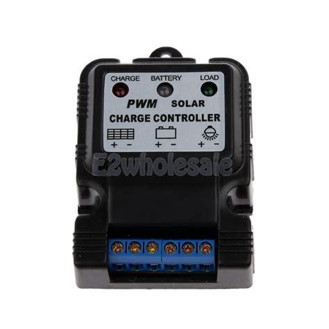 Solar Charge Controller 10a 12v 24vpanel Surya Charger Lcd 10a 12v24v 1 6v 12v 10a pwm auto solar panel charge controller battery charger regulator ebay