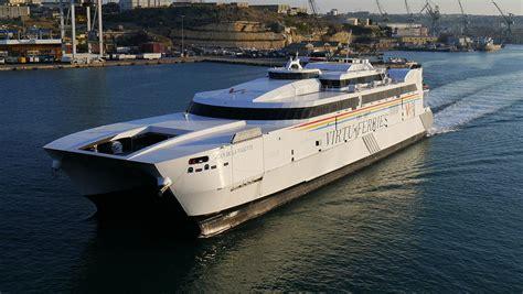catamaran ferry malta virtu ferries wikipedia