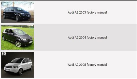 car owners manuals free downloads 2004 audi a8 free book repair manuals audi a2 2003 2004 2005 repair manual factory manual