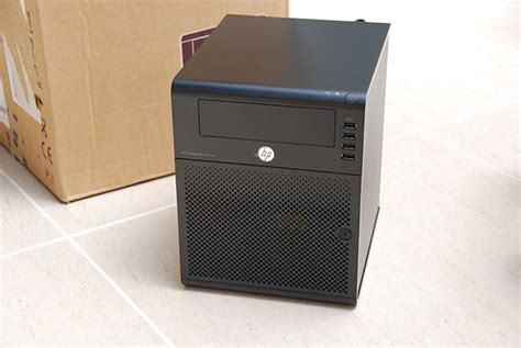 hp proliant microserver the neat server for home