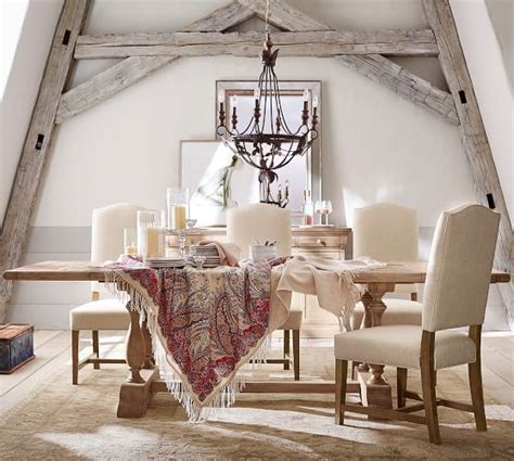Parkmore Extending Dining Table   Pottery Barn