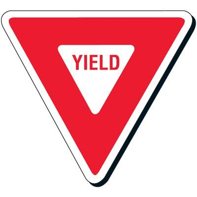 best yield traffic sign yield clipart best