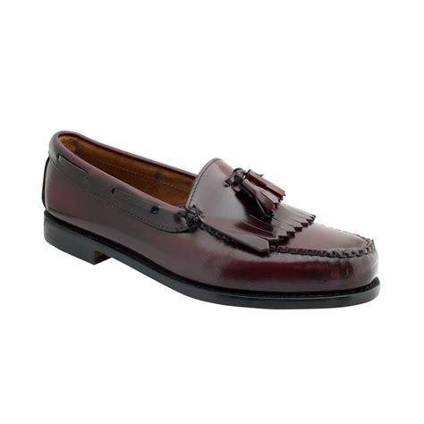 kiltie loafers g h bass co layton weejuns kiltie tassel loafers in