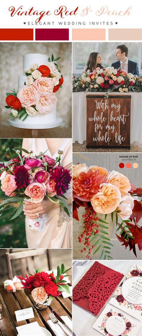 wedding 2018 trends updated top 10 wedding color scheme ideas for 2018 trends