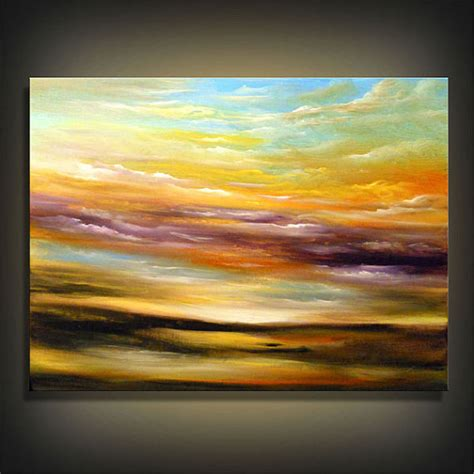 acrylic painting sky abstract acrylic paintings original abstract painting