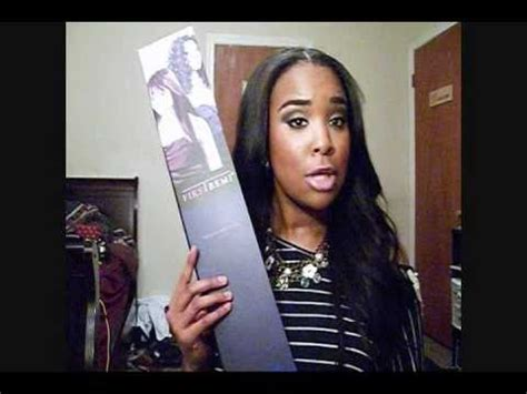 pictures of first remy hairstyles bobbi boss first remi hair review youtube
