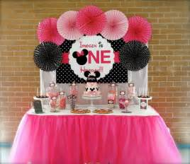 minnie mouse decorations birthday 35 1st birthday ideas for
