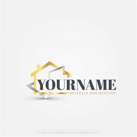 Real Estate Logo Maker Online House Logo Template Design Your Own Logo Template