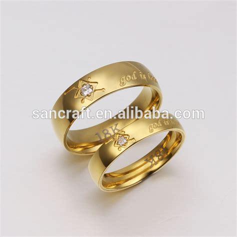 2014 new design 18k gold engagement gold finger ring