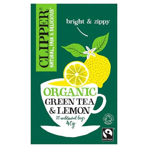 Clipper Detox Tea Review by Clipper Green Tea With Lemon 26 Teabags