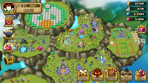 Garden Event Summoners War Island Design I Crafted All The Buildings Xd Com2us Forums