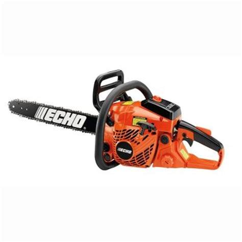 echo 18 in 40 2 cc gas chainsaw cs 400 18 the home depot