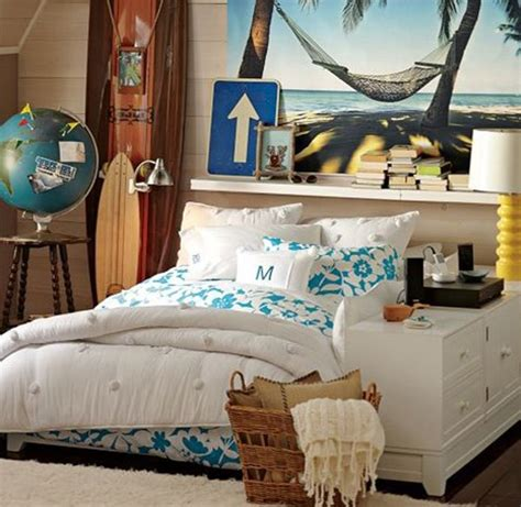 beach themed bedroom themes for teenage girl bedroom