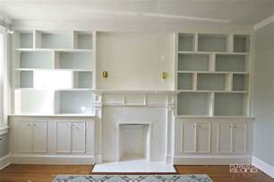 Built In Bookshelves Diy Built In Bookshelves