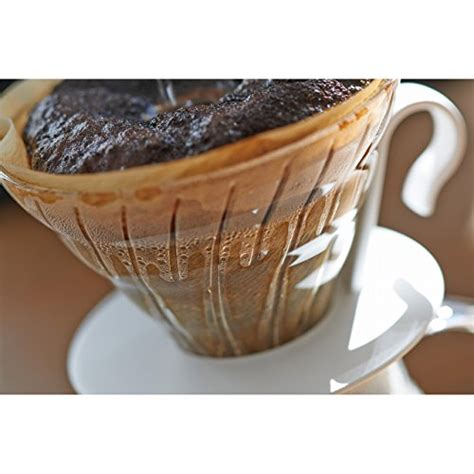 Sale Paper Coffee Filter Untuk Alat V60 Size 01 Isi 40 Lembar hario v60 glass coffee dripper size 02 black appliances store