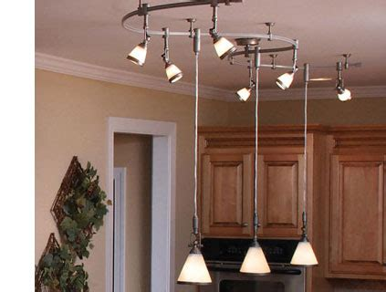 Track Lighting With Pendants Kitchens Ceiling Lights Buying Guide At The Home Depot
