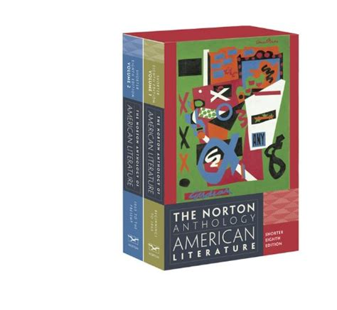 The American Literature Cheapest Copy Of The Norton Anthology Of American Literature Shorter Eighth Edition Vol Two