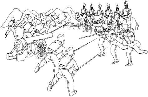 imagenes para colorear batalla de la victoria dibujos de efemerides para colorear