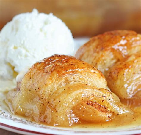 Reader Recipe Mountain Dew Apple Dumplings by Crescent Roll Apple Dumplings Sugar Apron