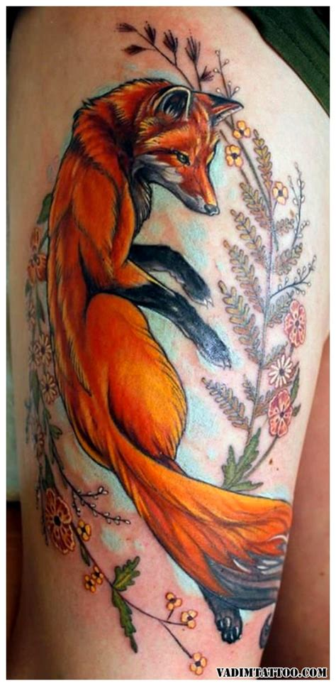 55 fox tattoo designs fox tattoos meaning and ideas