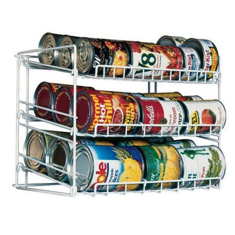 soup can holder for pantry pantry organizer can storage rack shelf kitchen cabinet