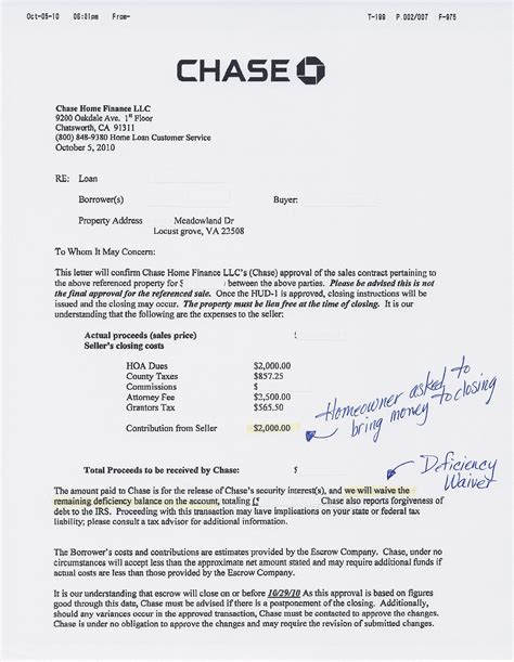 chase bank house loans bank of america pre approval letter