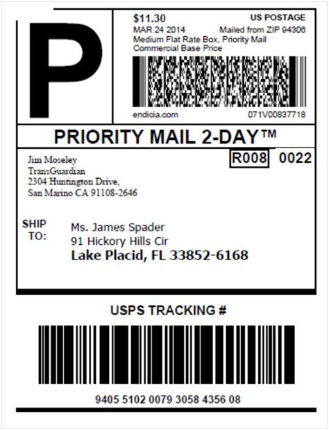 printable usps labels newsletter september 2014 endicia