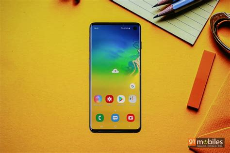 Samsung Galaxy S10 91mobiles by Samsung Galaxy S10 Review The Middle Child You Shouldn T Ignore 91mobiles