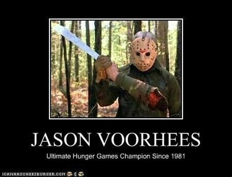 Jason Voorhees Meme - 49 best horror images on pinterest