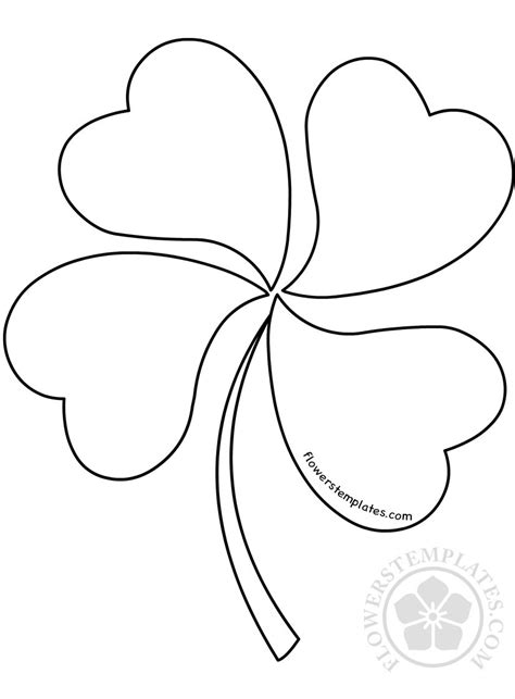 Clover Templates Flowers clover templates flowers images templates design ideas