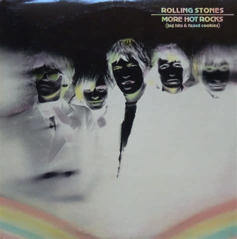 Cd The Rolling Stones More Rocks Big Hits Fazed Cookies album rocks de the rolling stones sur cdandlp