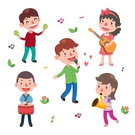 imagenes de niños tocando instrumentos musicales colecci 243 n de ni 241 os tocando instrumentos descargar