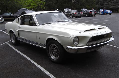 white 1968 mustang wimbledon white 1968 ford mustang shelby gt 350 fastback