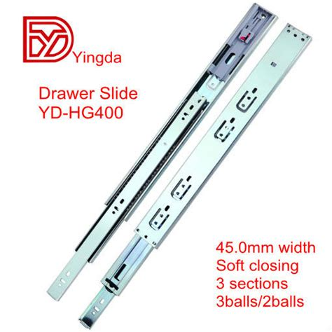 Different Types Of Drawer Slides by Bearing Drawer Slides Types Yd Hg400 Heavy Loading