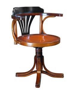 schreibtisch mit stuhl schreibtisch stuhl drehbar black authentic models m 246 bel
