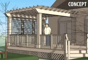 trellis designs for decks deck designs deck trellis designs