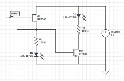 antiparallel diode mosfet antiparallel led driving circuit electrical engineering stack exchange