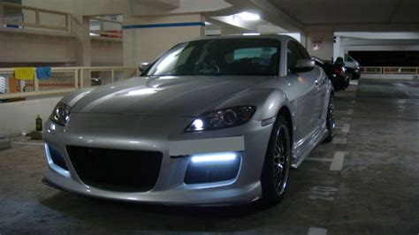mazda rx8 front grill led strips for headlights or grille rx8club