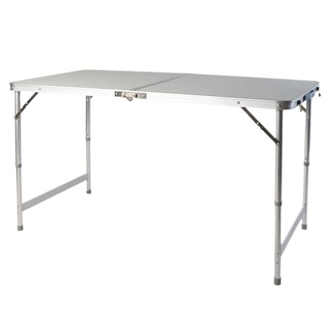 fold out picnic table picnic table adjustable height fold out aluminum