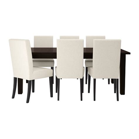 kitchen table and 6 chairs ikea storn 196 s henriksdal table and 6 chairs ikea