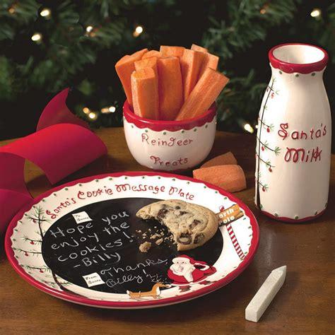 naughty nice santa cookies plate and mug set home
