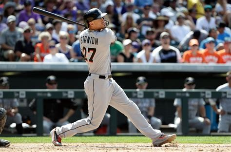 miami marlins lose giancarlo stanton for rest of season