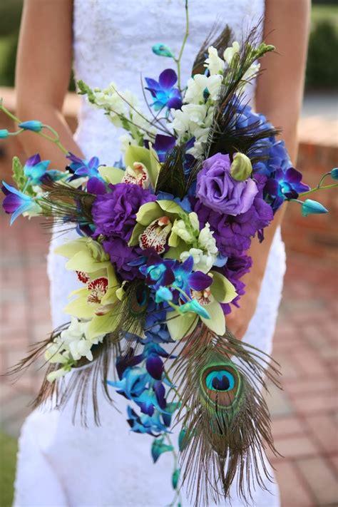 peacock wedding bouquets wedding stuff ideas