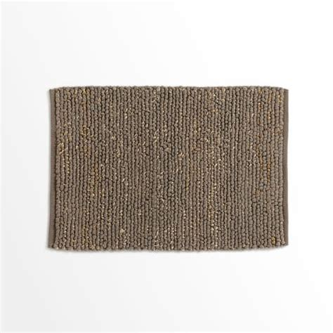mini pebble wool jute rug mini pebble jute wool rug soot west elm