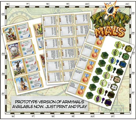 printable war board games print out and play the furry fights of armymals