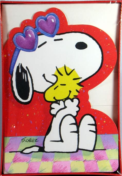peanuts valentines snoopy valentines day cards