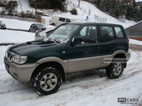 nissan terrano 2002 2002 nissan terrano 2 7 td fun car photo and specs
