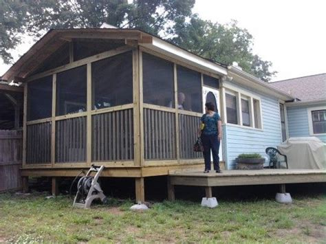 how to build a screened in patio 1000 images about travel trailer porches on lakes shelters and cers